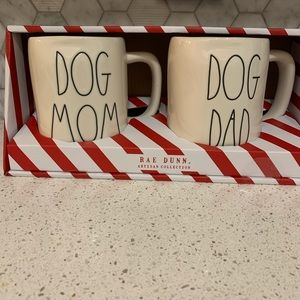 Rae Dunn Dog Dad & Mom